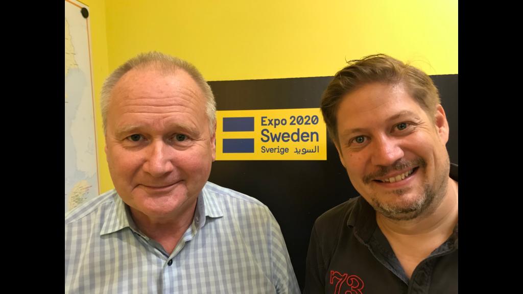 Anders är ansvarig för Svenska delegationen till Dubai och Expo 2020.